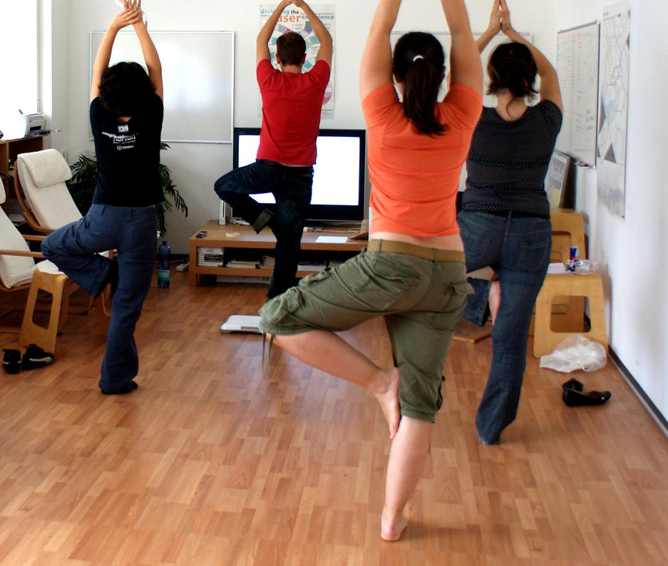 6 Simple Exercises You Can Do At Work